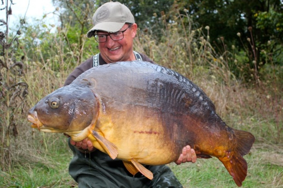 DF with The Twin at 62lb 8oz from Co's Point in September 2013