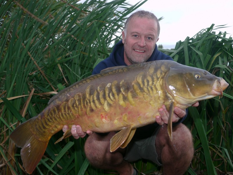 Barty with a scaly mirror