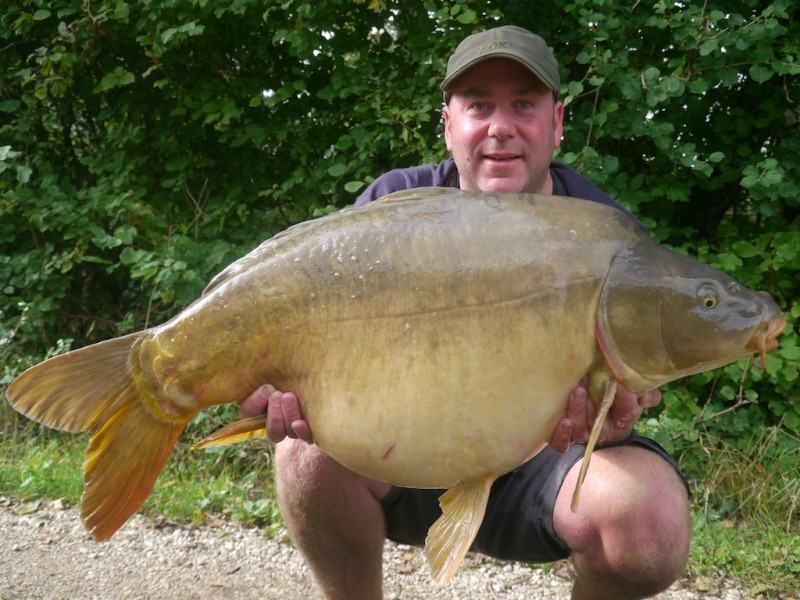 Andy with 41lb mirror
