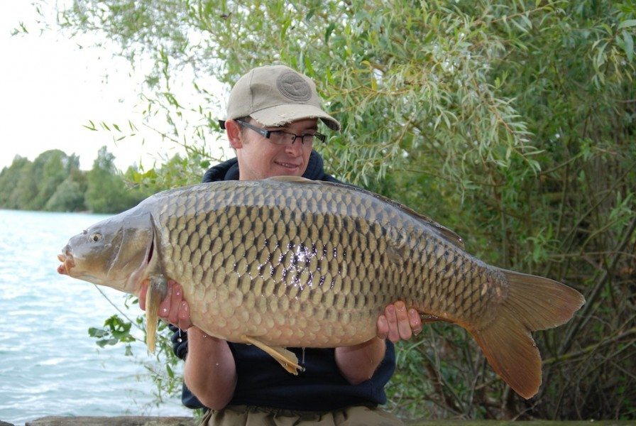 Spooner with a 32lb common