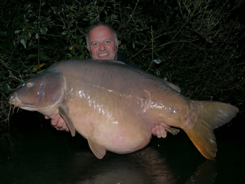Barty with Single Scale 72lb oct'13