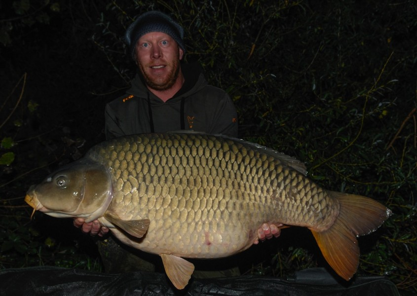 Christian with the Immaculate at 63.08lb