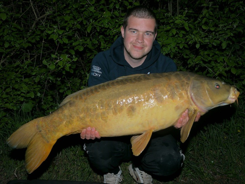 Mike with a zig caught mirror