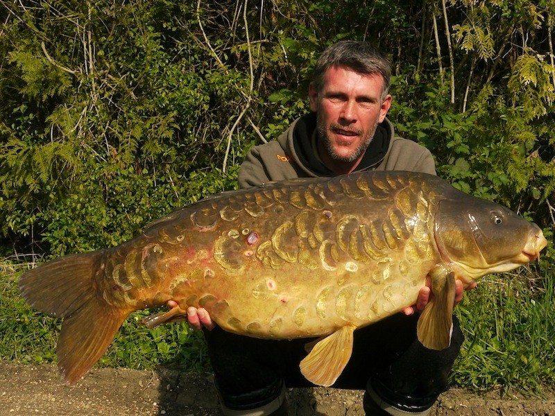 Darren, 37lb 8oz, Co's Point, 19.4.14