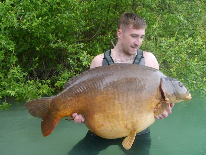 Josh Cook, 64lb 12oz, Co's Point, 3.5.14