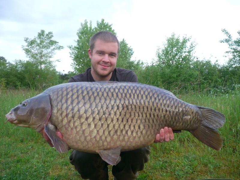Mike with a 34lb common