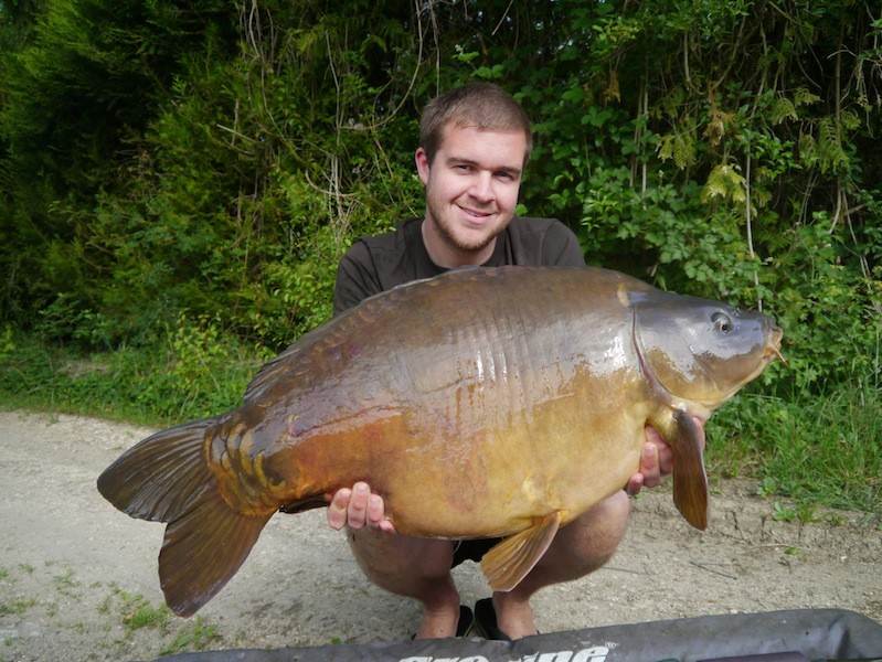Mike with a 30lb+ mirror