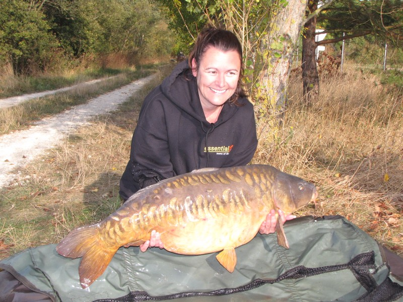 Mz.Clarke with her PB 'the cheese' at 35+
