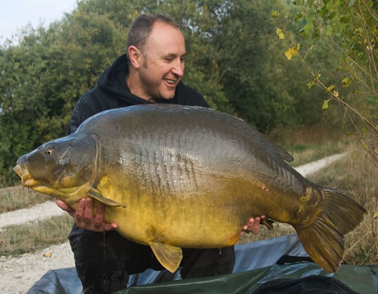 Clarky with the mighty Staples at 67lb 12oz.
