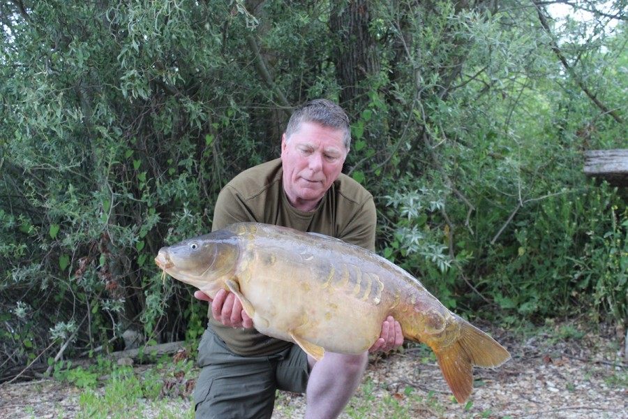 Dave Pennicote, 35lb, The Alamo, 14.6.14