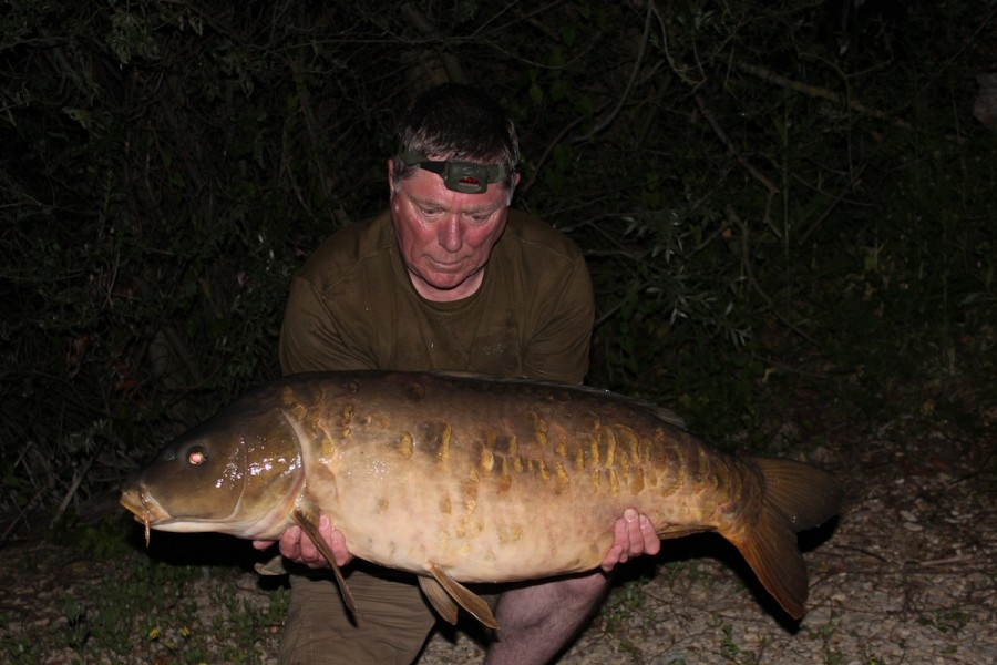 Dave Pennicote, 40lb, The Alamo, 14.6.14