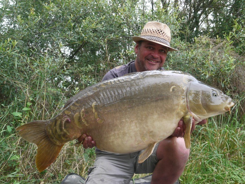 Mike, 52lb 4oz, The Alamo, 19.7.14