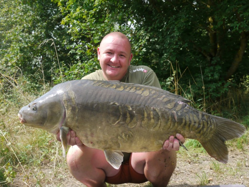 Mark, 38lb 8oz, Co's Point, 26.7.14