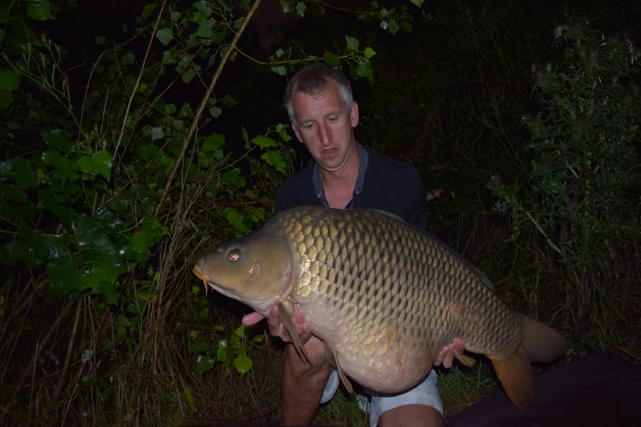 Lennie with the Big Bollox Common at 46.12lbs