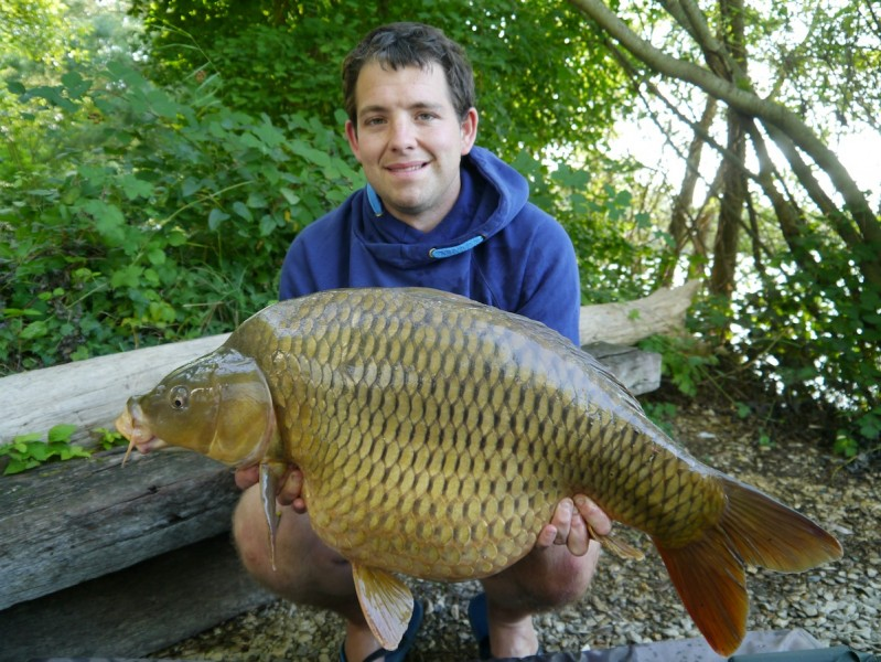 steve with a 32.08lb common
