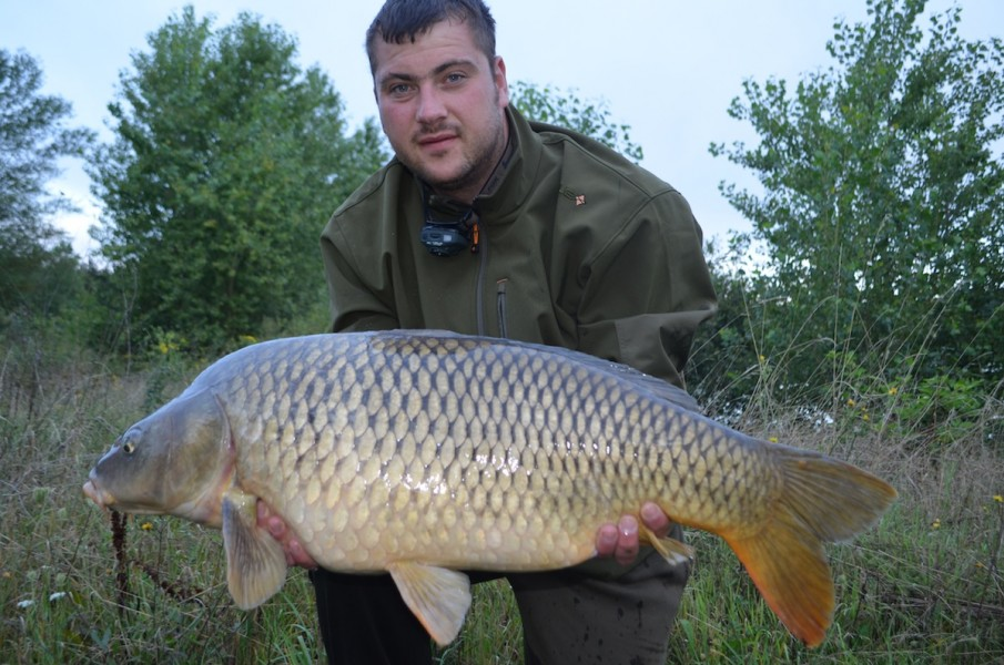 Noel with a 27.14lbs Common