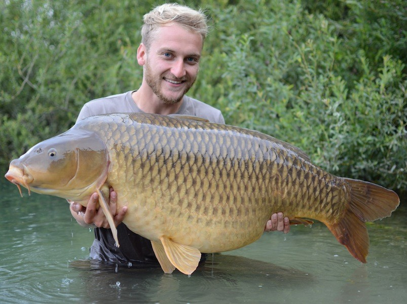 Tom Dove, 57lb 13oz, Big Girls, 23.8.14