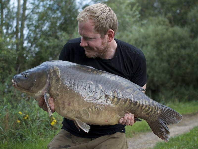 Rich Stewart, 40lb 12oz, The Stink, 23.8.14