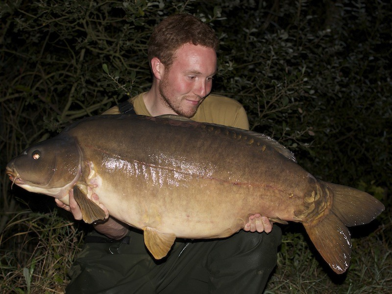 James Turner, 55lb 8oz, The Alamo, 23.8.14