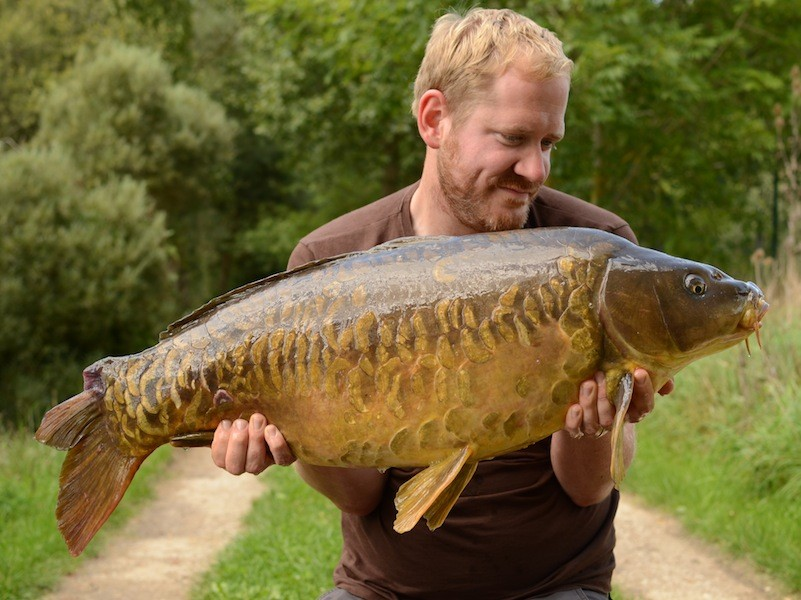 Rich Stewart, 30lb, The Stink, 23.8.14