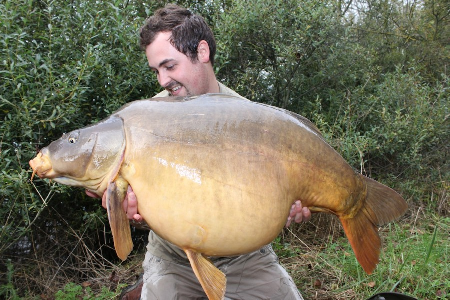 Chris, 45lb 8oz, Oblivion, 11.10.14