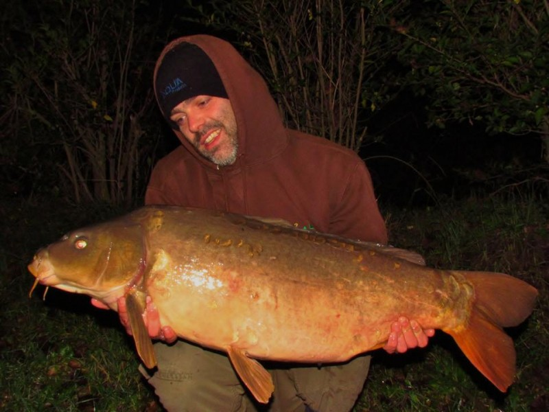 Craig with a 27.00lb Mirror