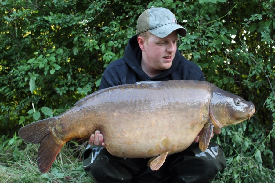 The Devil Fish 42lb Tree line 23.5.15