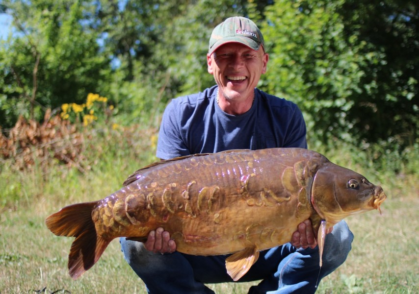 Simon Mack, 38lb, Co's Point, 27.6.15