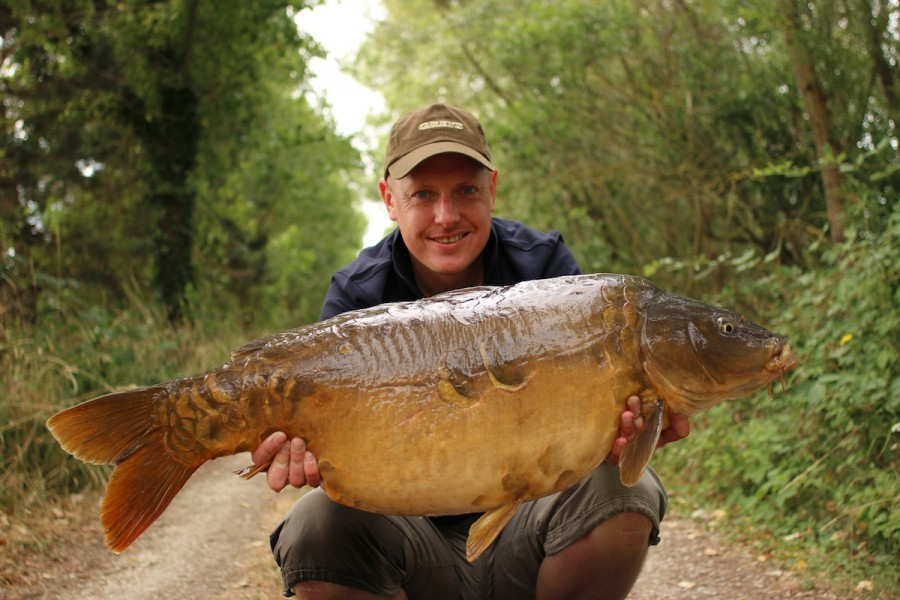 Ed Betteridge, 34lb, Alamo, 11.7.15