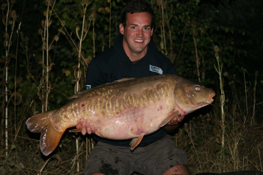Lewis with Baby Black Eye at 43lb 8oz