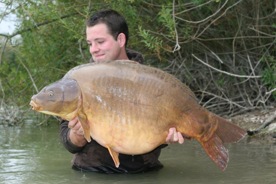 Steve with Ziggy Stardust at 60lb 8oz