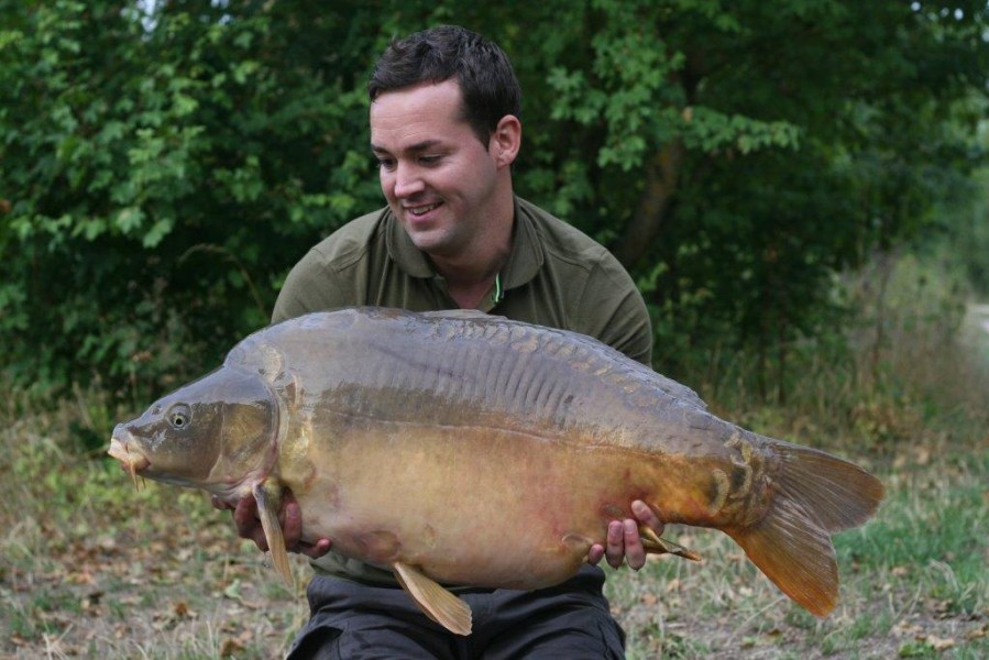 Lewis in Co's Point with The Bean 39lb 8oz