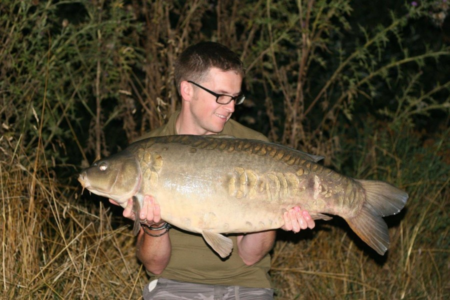 Spooner', 31lb 8oz, The Stink, 15.8.15