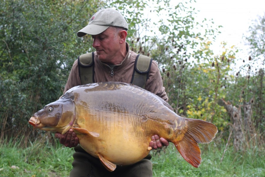 Andrew Gibbins, 57lb 14oz, Co's Point, 10.10.15