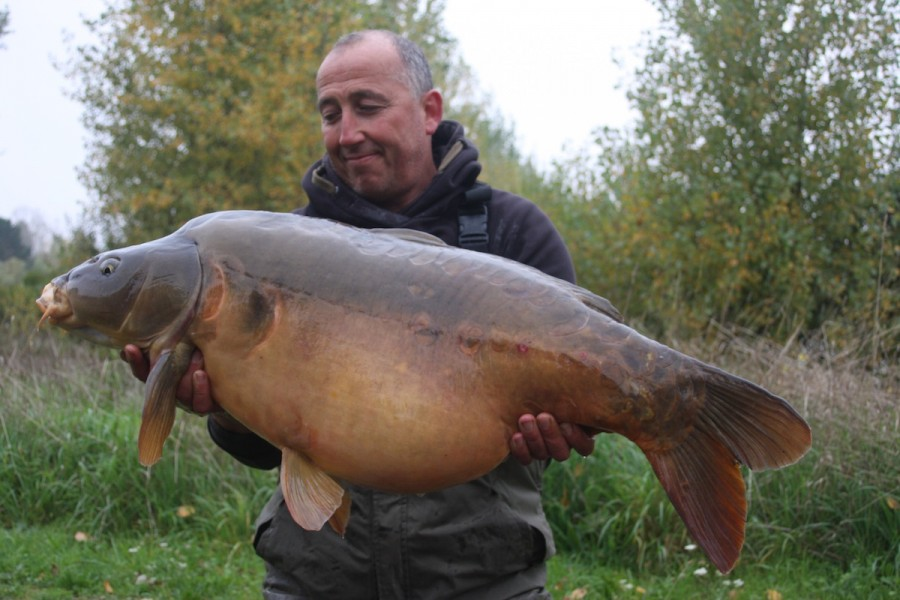 Steve Cliff, 45lb 14oz, Pole Position, 10.10.15