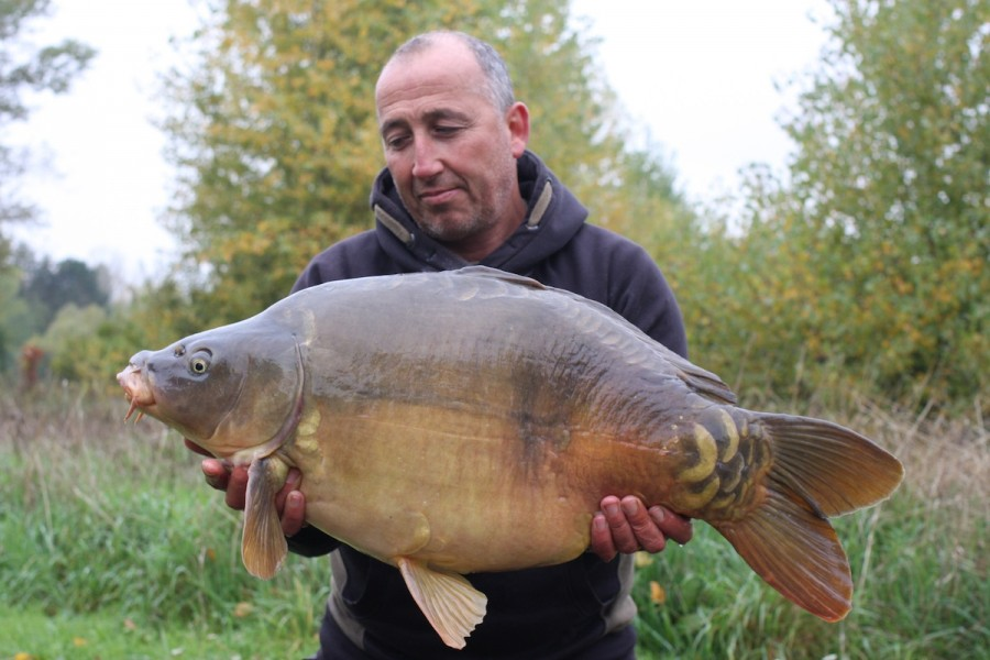 Steve Cliff, 31lb, Pole Position, 10.10.15