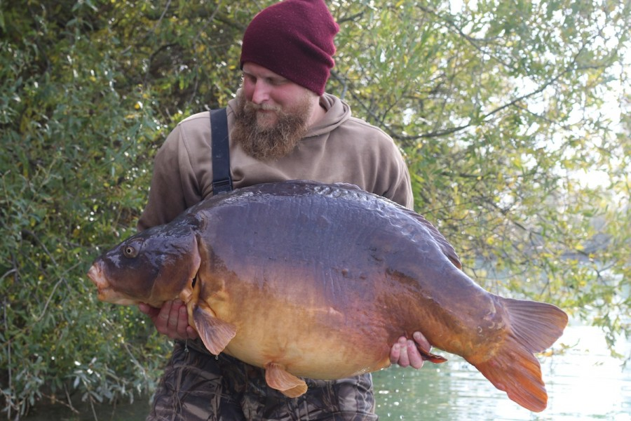 Peder with The Twin at 72lb from Oblivion in October 2015