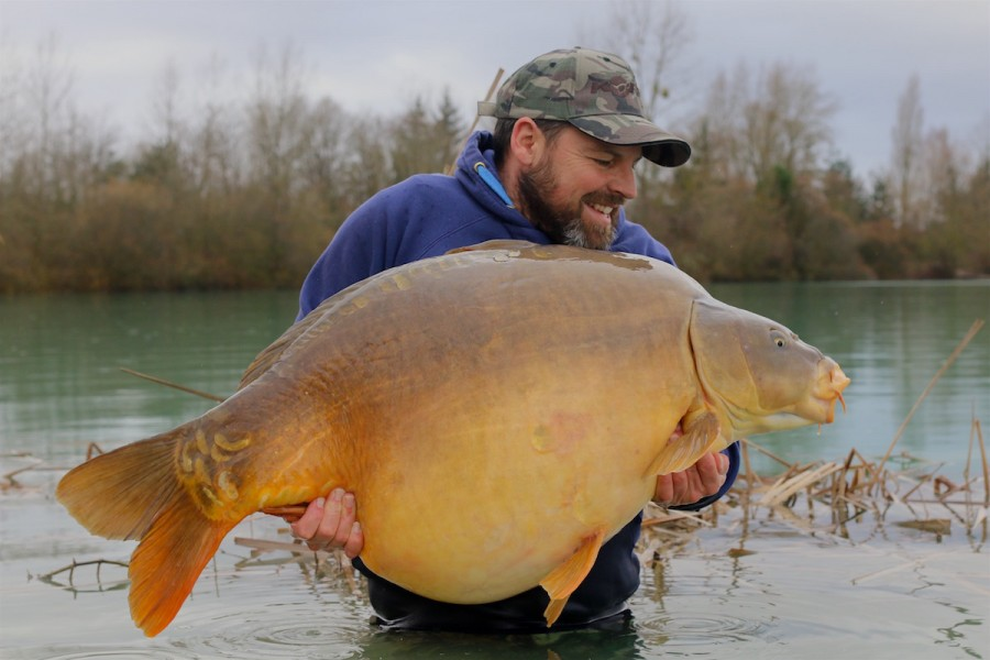 Buzz with The 43 at 66lb 8oz from Alcatraz in February 2016