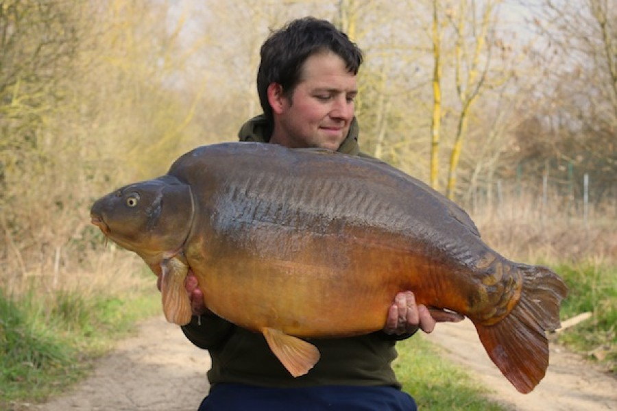 Steve Rocke, 52lb 6oz, The Stink, 21.3.16