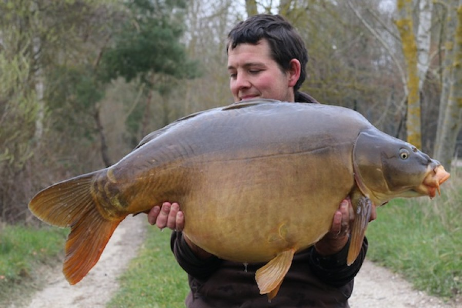 Steve Rocke, 47lb 6oz, The Stink, 22.3.16