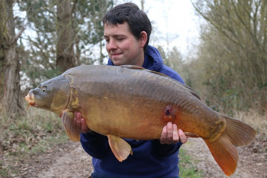 Steve Rocke, 32lb 4oz, The Stink, 20.3.16