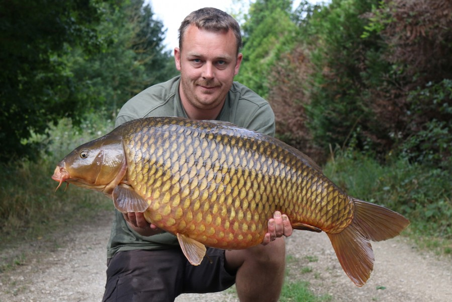 Elliott with a 30lb common from Co's Point