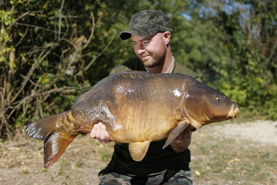 Rob in Co's with Quasi @ 34lb 8oz
