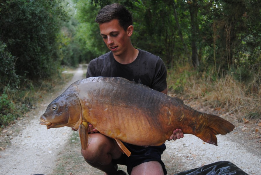 Dalton with Mr Angry @ 56lb from Big Girls