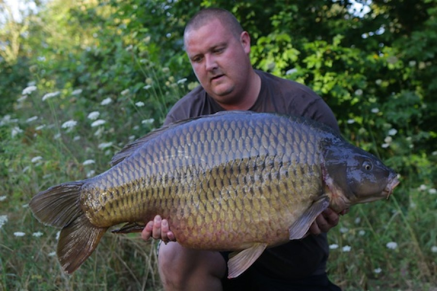 Liam Burkin, 49lb, Co's Point, 6.08.16