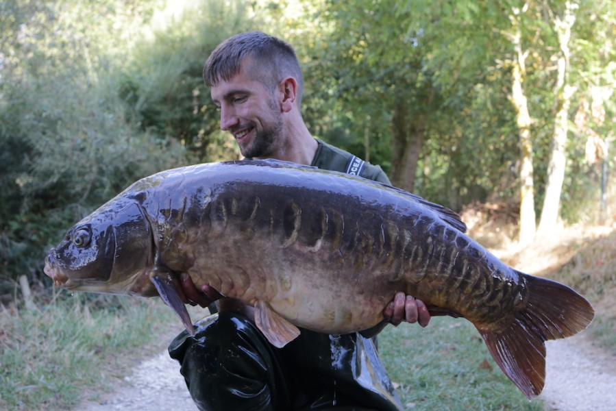 Ross Millhouse, 43lb, The Stink, 10.9.16