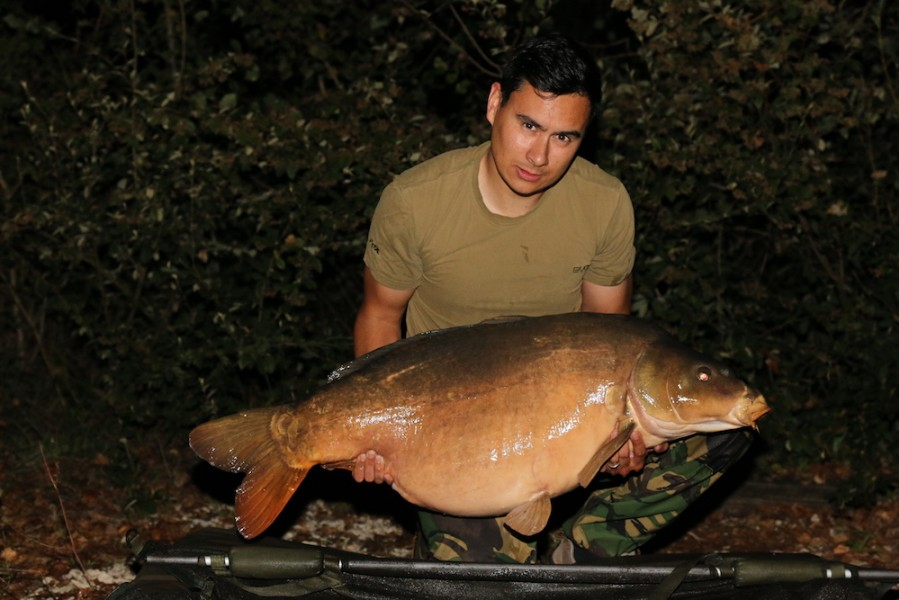 Peter Francis-Cable, 52lb 4oz, Baxter's Hole, 24.9.16