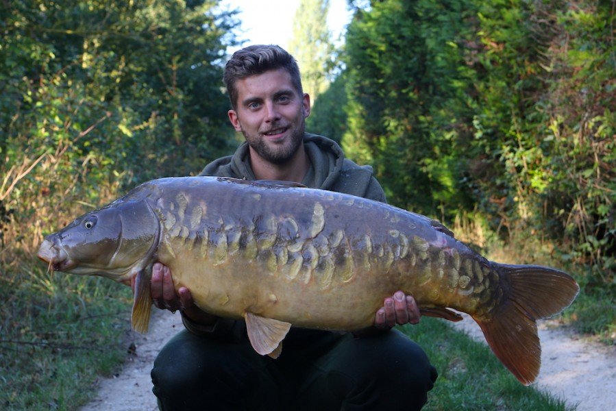 Grey Plated 39lb3oz Co's Point 24.9.16