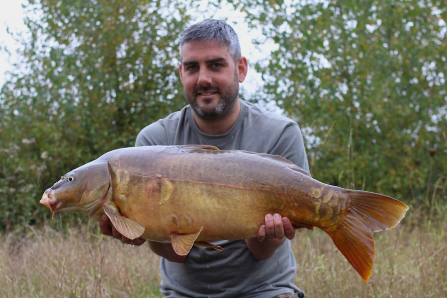 Small and Mighty 20lb Pole Position 24.9.16