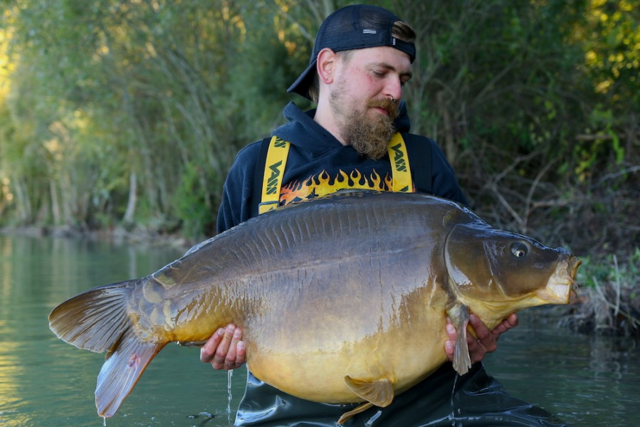 Ivan Gojda, 62lb 8oz, The Stink, 1.10.16